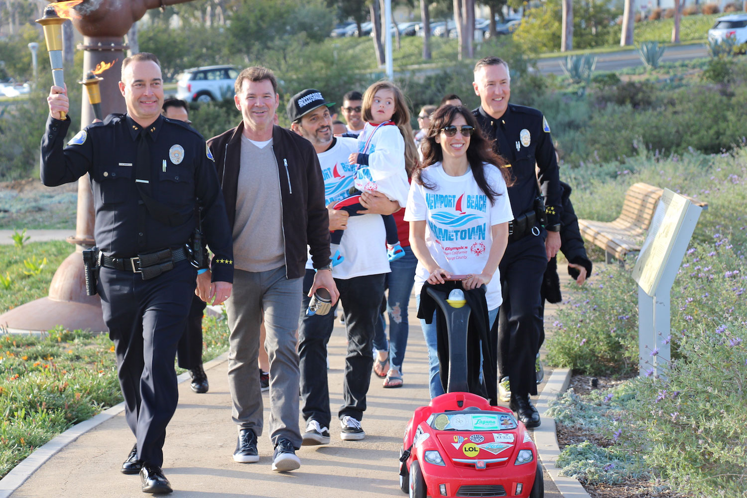 1a87d9cc38e Newport Beach Home Town Torch Walk