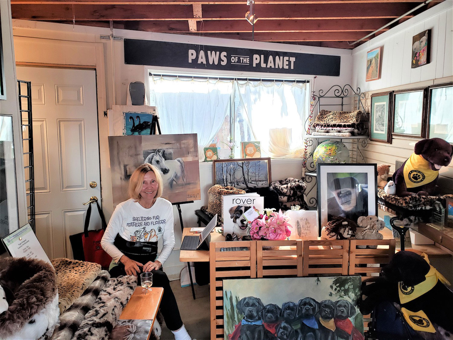 Cannery Village artists Paws of the Planet