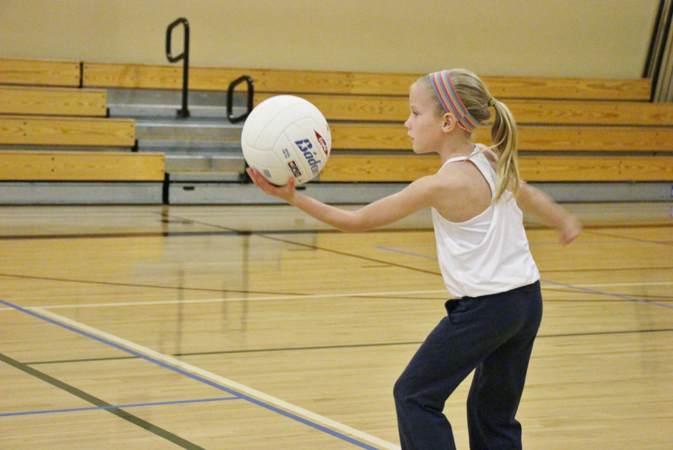 Sign your children up indoor volleyball