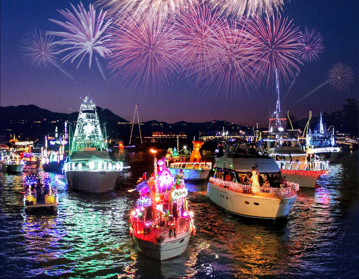 110th annual fireworks and boats