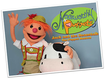 Noteworthy Puppets Jack and the Beanstalk