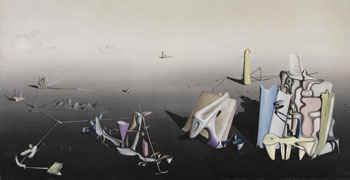 Yves Tanguys Azure Day