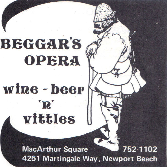 You Must Remember This Orange County Beggars Opera