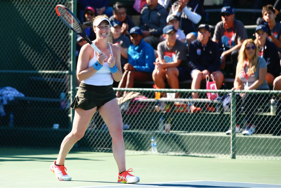 Americans lead the charge Brengle