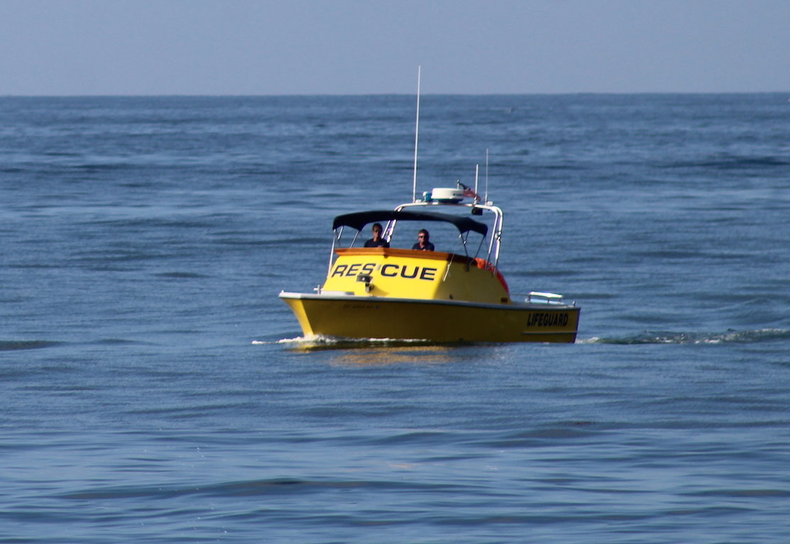 Police Files Lifeguard Boat