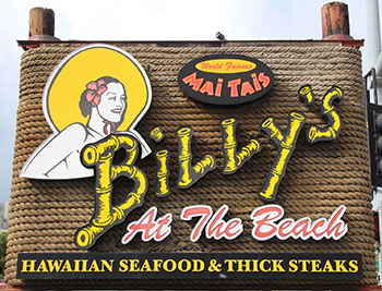 Billys At The Beach