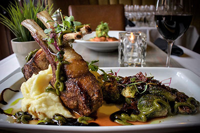 The Bungalow rack of lamb