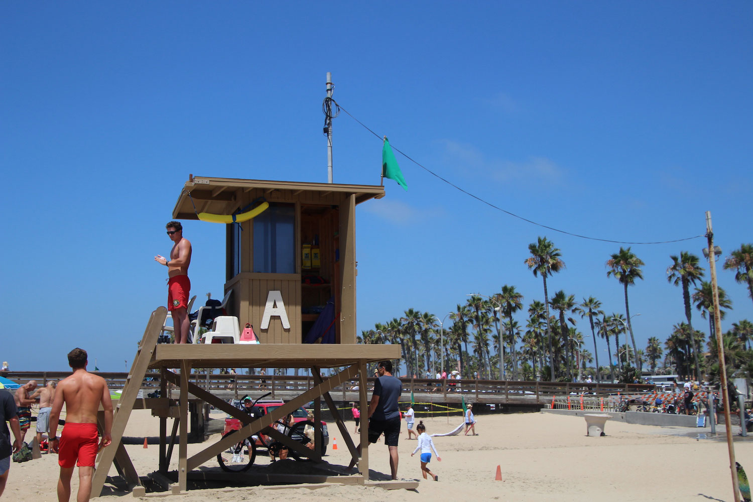 Police Files Lifeguard Tower 1.21.20