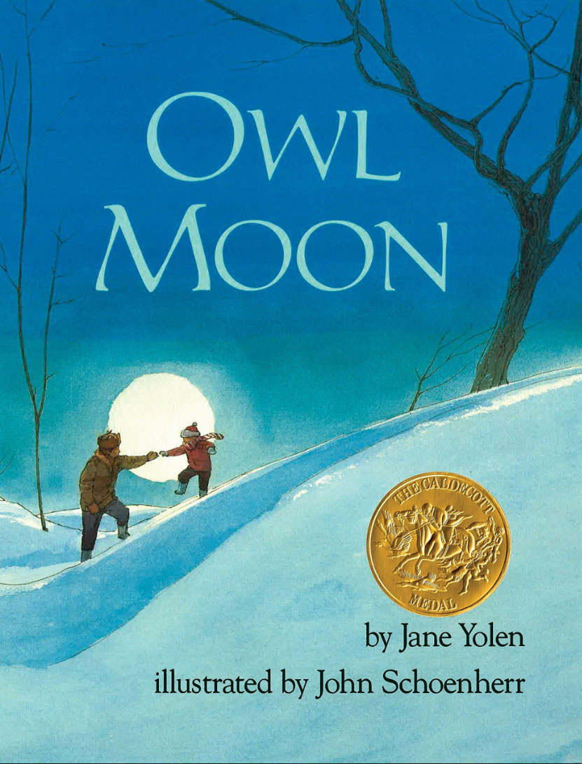 Top Five things Owl Moon bookcover