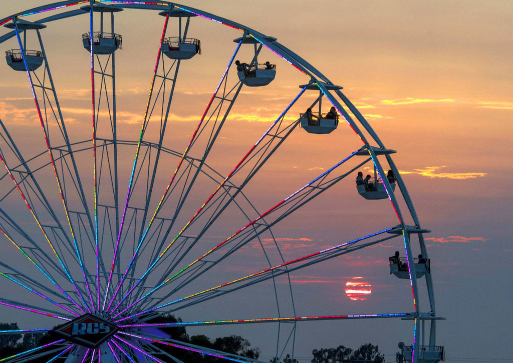 Enter to Win Ferris wheel