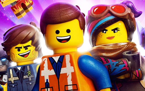 The LEGO Movie 2 three characters