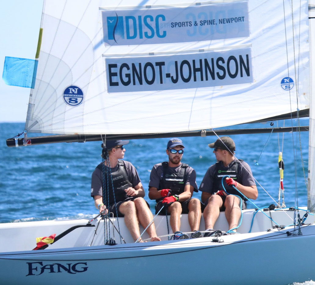 Egnot Johnson wins the battle boat