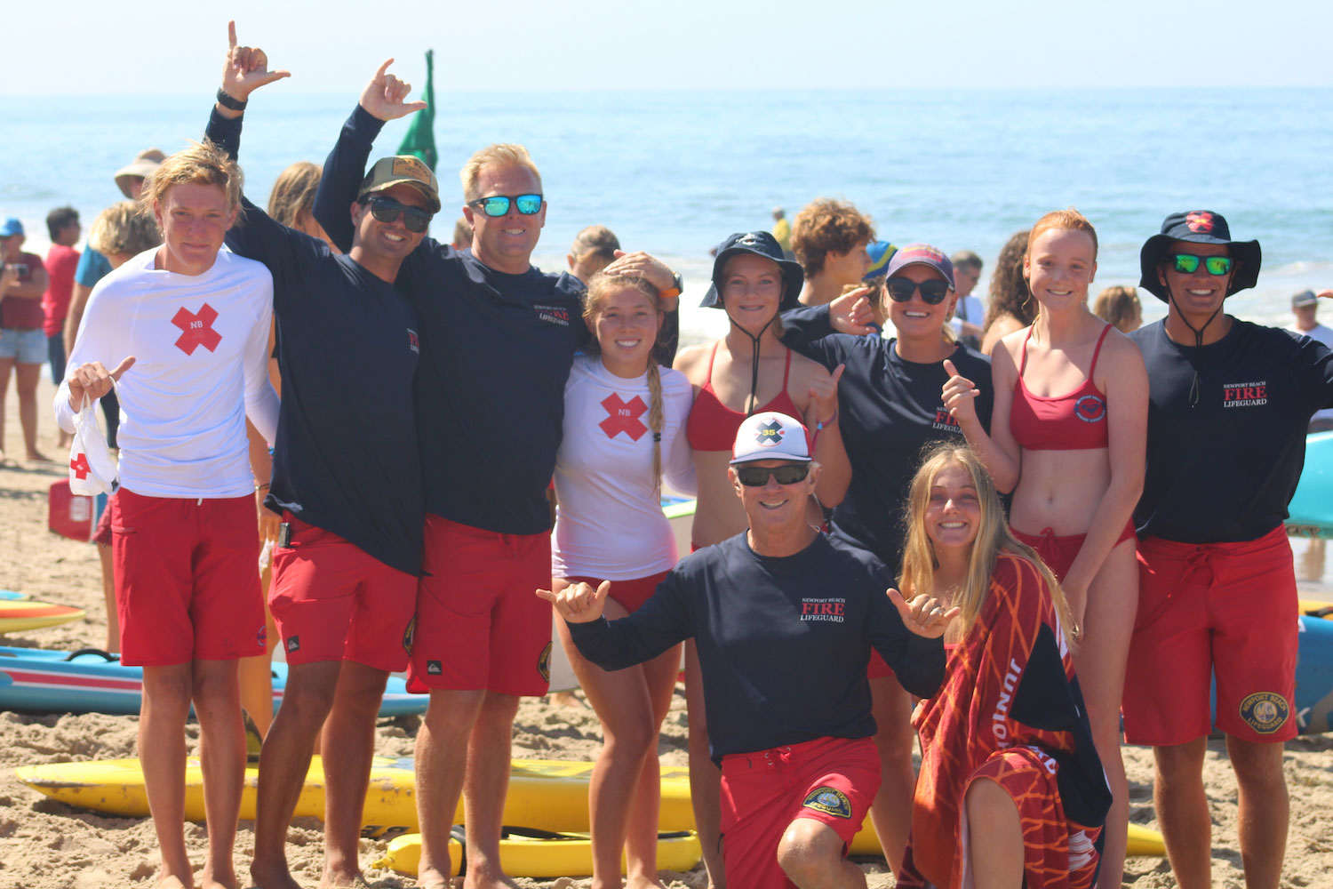 Newport Beach finishes A Group Leaders