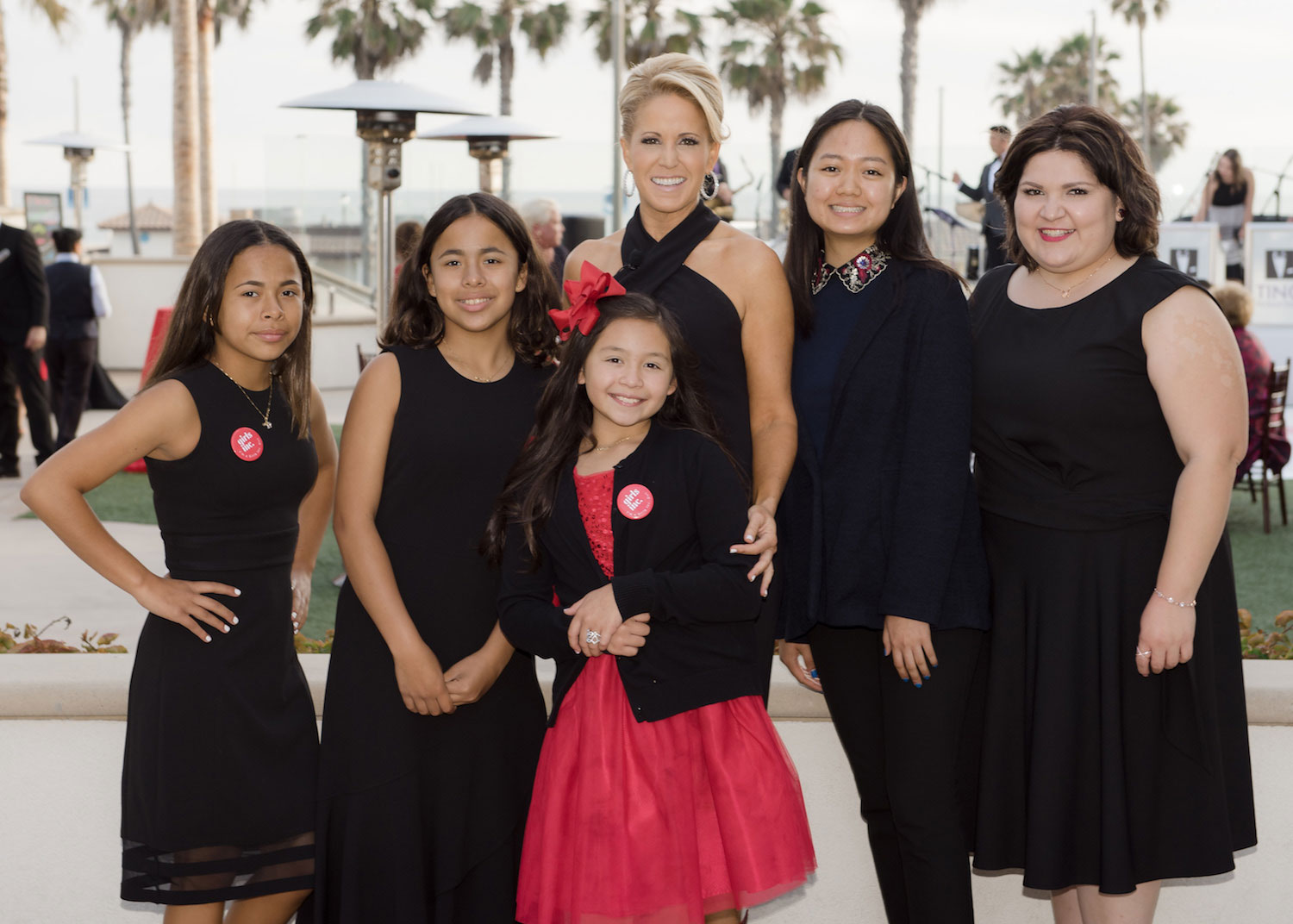 Girls Inc. of OC Jamie Gwen and group