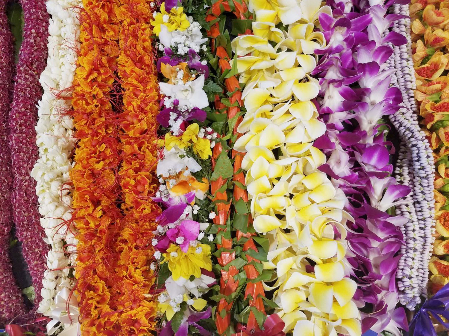 H&G May Day leis