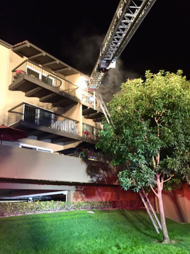 Police Files apartment fire