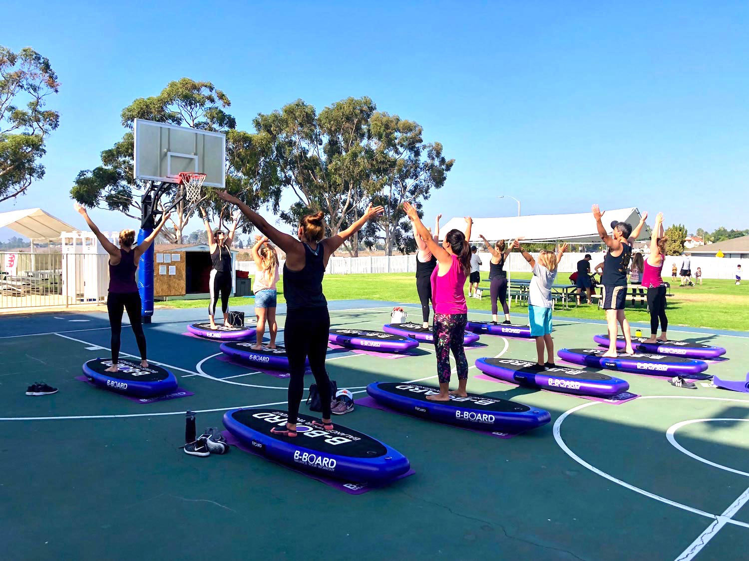 YMCA of Orange County Boards fitness