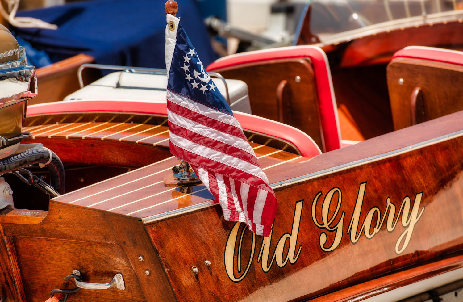 Wooden Boat Festival Old Glory
