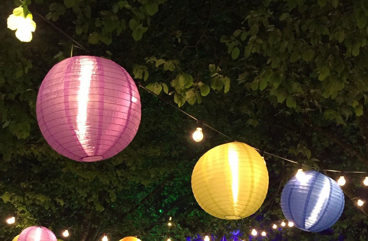 ENC to hold Summer Soiree paper lanterns