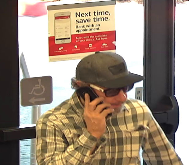 Police Files Bank Robber Suspect