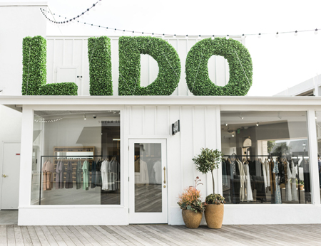 LIDO sign and building