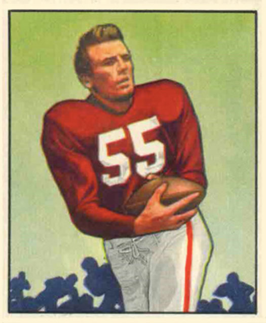 Fair Game Paul Salata football card