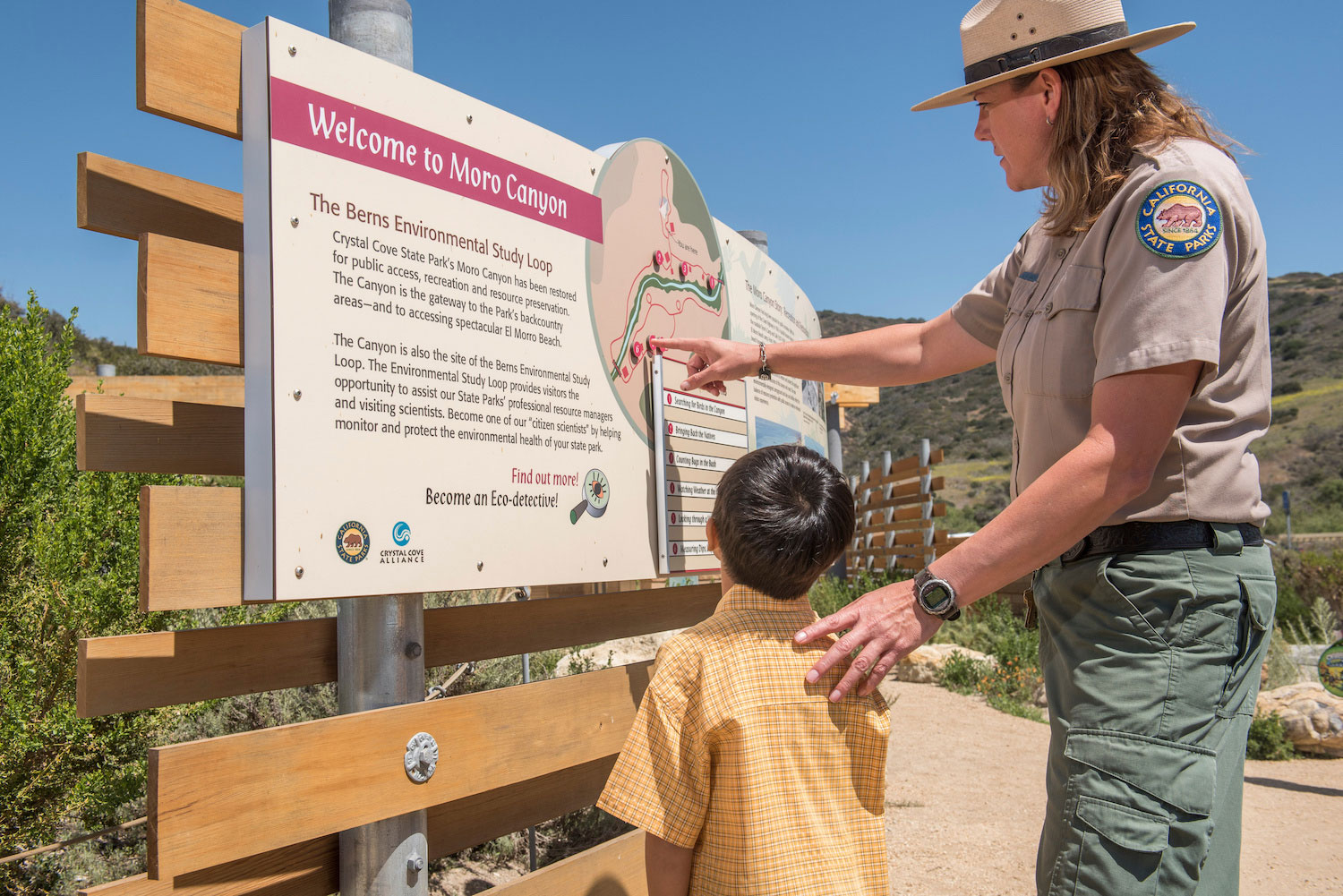Crystal Cove hosts trail guide